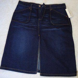 Express  Blue Jean Denim Skirt 9/10